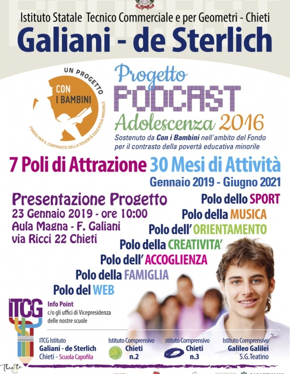 Progetto Podcast Adolescenza 2016